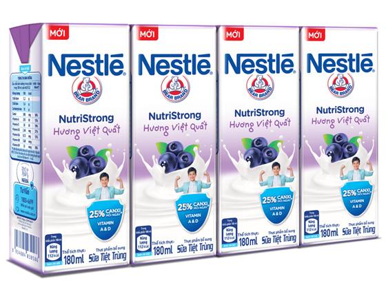 Sữa Nestle hương việt quất 180ml
