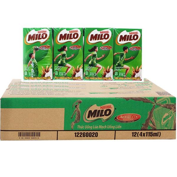 Sữa nước Milo lúa mạch 115ML