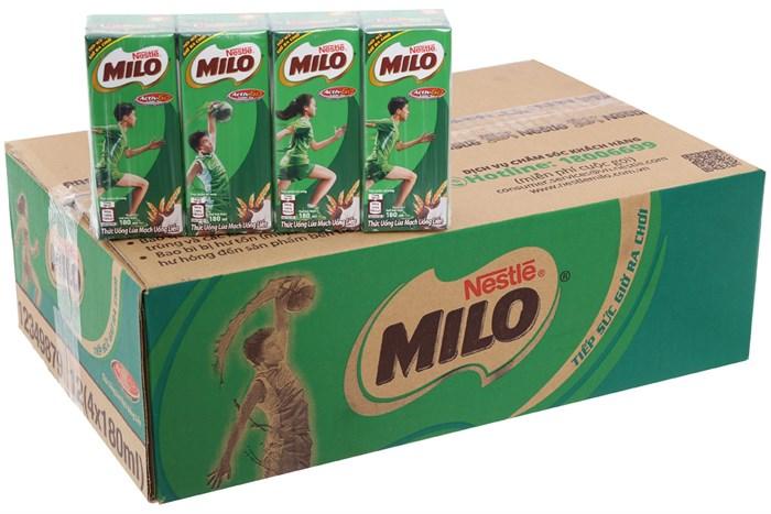 Sữa nước Milo lúa mạch 180 ML
