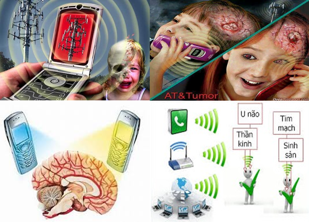 Miếng dán chống bức xạ điện thoại di động