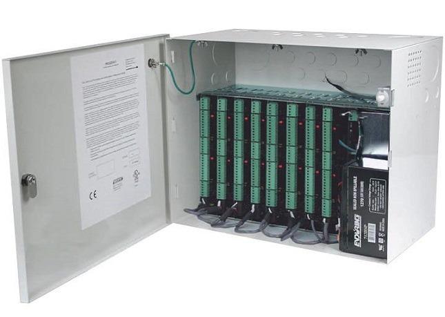 Tủ nguồn dung lượng chứa 9 module HONEYWELL PRO22ENC1