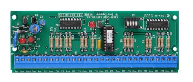 Card nâng cấp lên 16 vùng NX-216