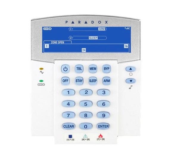 Bàn phím LCD PARADOX K641LX
