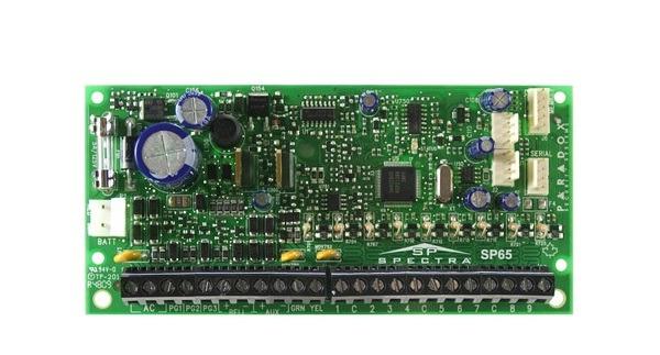 Bảng điều khiển trung tâm 9 vùng PARADOX SP65