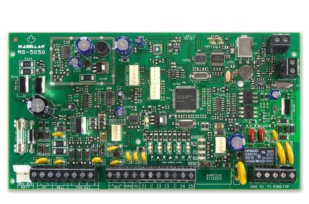 Bảng điều khiển không dây 5 vùng PARADOX MG5050