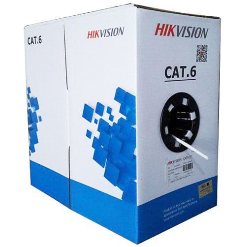 Cáp mạng CAT6 U/UTP HIKVISION DS-1LN6U-SCO  - Stable electrical performance, compliant with ANSI/TIA