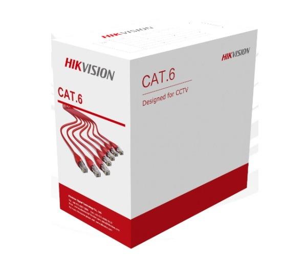 Cáp mạng CAT6 U/UTP HIKVISION DS-1LN6U-SCO