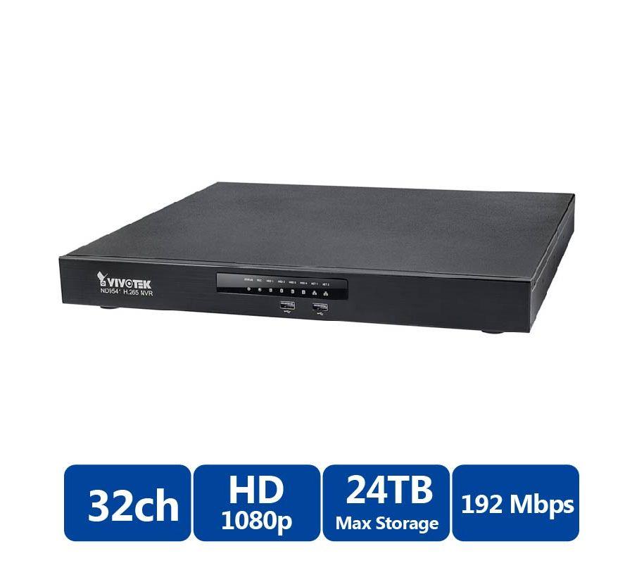 Đầu ghi hình camera IP 32 kênh Vivotek ND9541