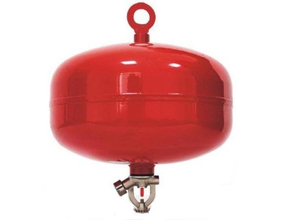 Bình cầu chữa cháy tự động bột ABC 8kg