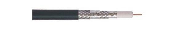 Cáp đồng trục-Coaxial cable Alantek RG-6 Quad-shield