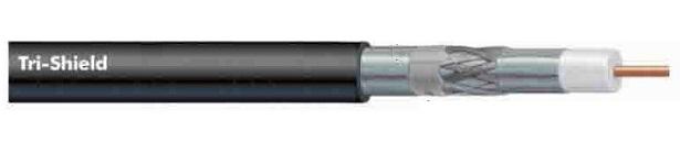 Cáp đồng trục-Coaxial cable Alantek RG-11 Tri-Shield no Messenger