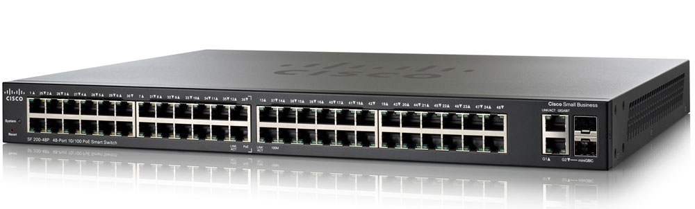 48-Port 10/100Mbps Stackable Switch Cisco SF500-48