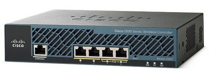 Wireless Controller 2500 CISCO AIR-CT2504-5-K9