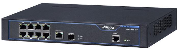 8-port 10/100Mbps PoE Switch PoE DAHUA S1000-8TP