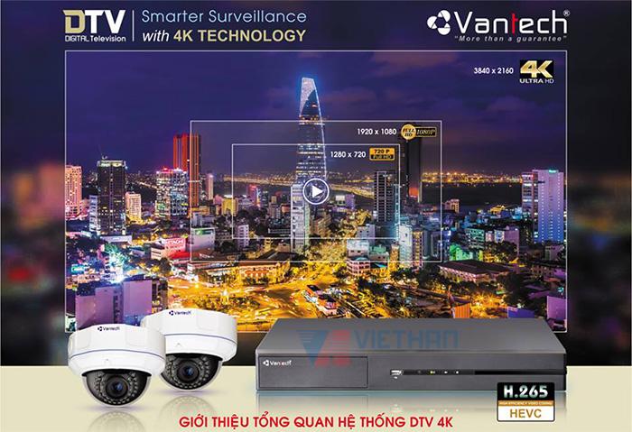 Camera Vantech DTV 4K có gì mới ?