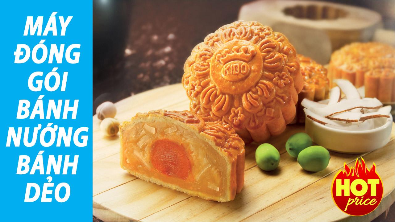 Máy Đóng Gói Bánh Nướng, Bánh Dẻo