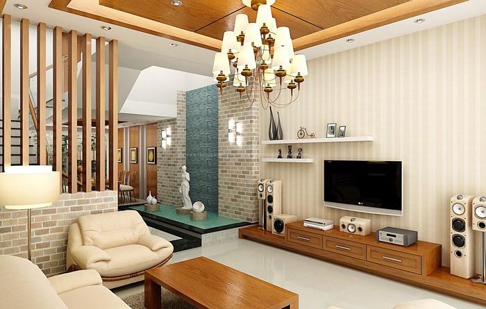 Trần gỗ hiện đại - Vẻ đẹp mới trong thiết kế nhà