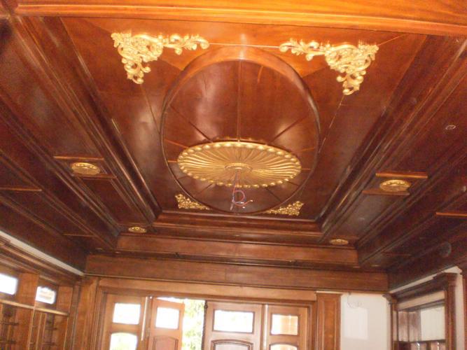 Mẫu trần nhà bằng gỗ đẹp mà bạn không nên bỏ qua