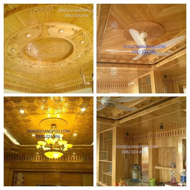 Đặc điểm của chất gỗ cho mẫu trần nhà bằng gỗ đẹp