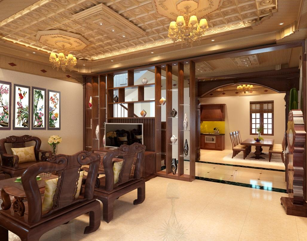 Địa chỉ cung cấp trần gỗ đỏ tốt chất lượng tại Hà Nội
