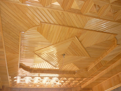 Một số loại trần gỗ phòng ngủ đẹp