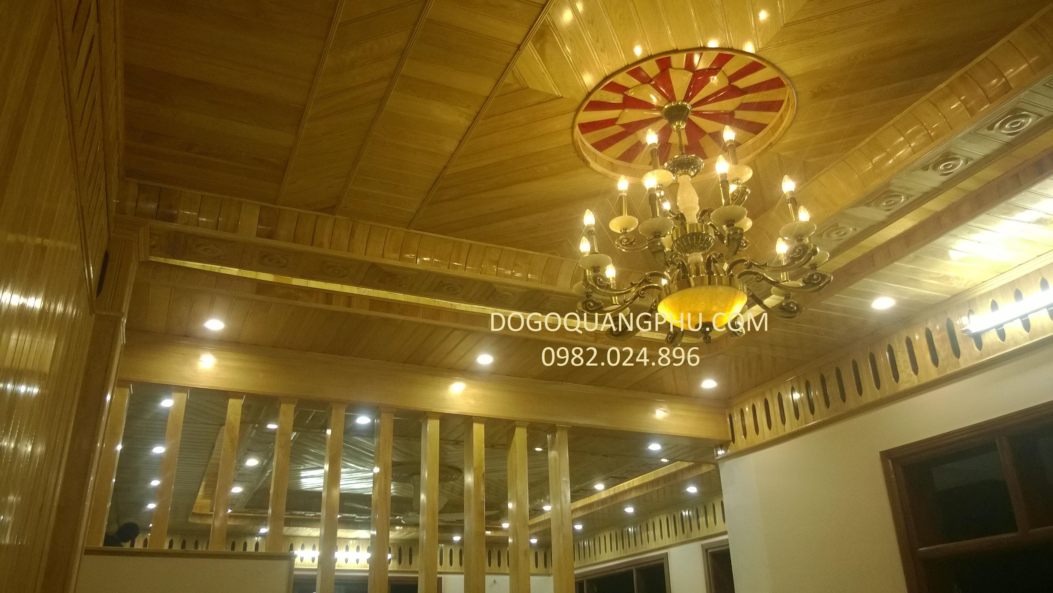 Ốp trần gỗ đẹp nâng tầm giá trị cho ngôi nhà của bạn