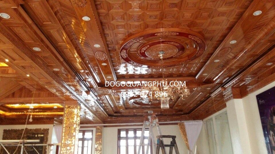 Trần gỗ hiện đại được thiết kế trong những trường hợp nào.