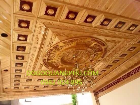 Chú ý bổ sung ánh sáng để tăng nét đẹp cho trần gỗ