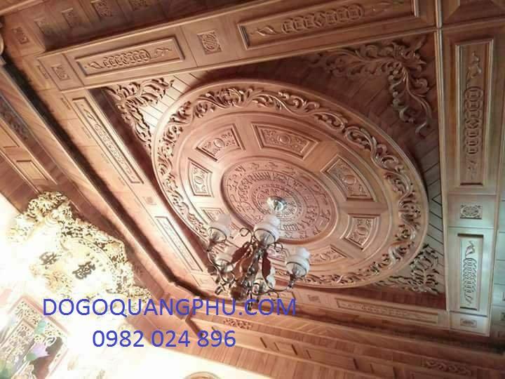 Địa chỉ cung cấp trần gỗ hiện đại