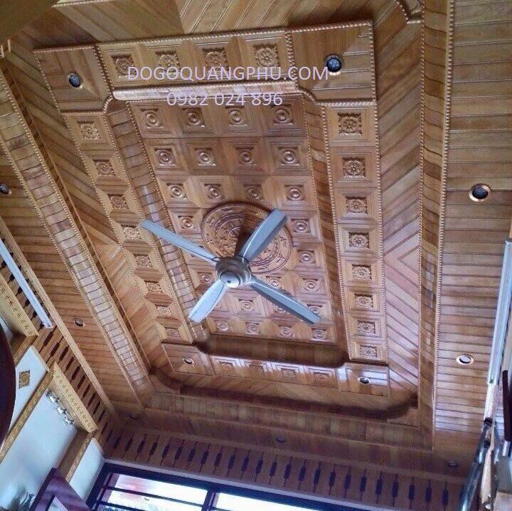 Trần gỗ đẹp là trần phù hợp với không gian nội thất