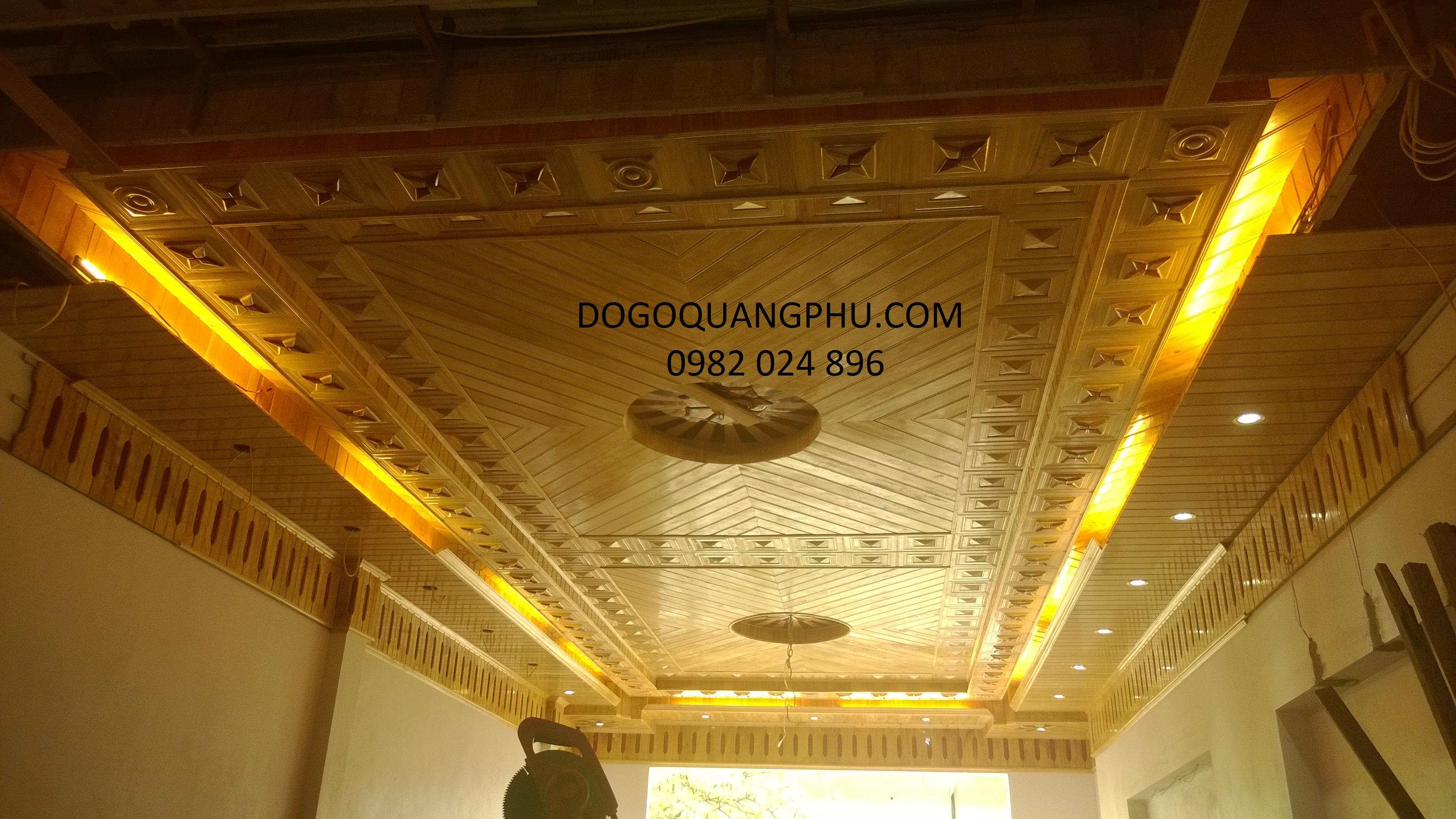 Làm trần gỗ cần lưu ý những gì?
