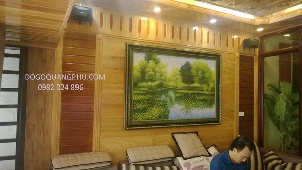 Trần gỗ phòng khách đẹp tăng thêm sức sống cho ngôi nhà của bạn
