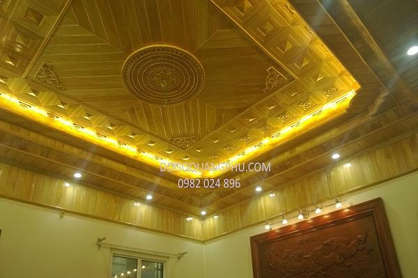 Làm trần gỗ bền đẹp và tăng giá trị sử dụng lâu dài