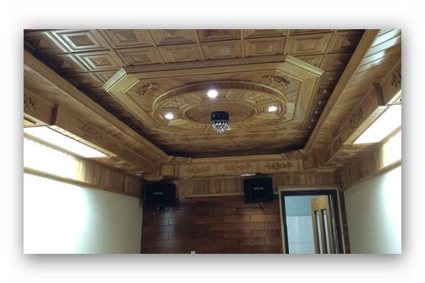 Làm trần gỗ đẹp và phù hợp không gian ngôi nhà