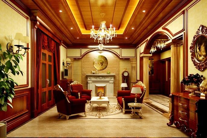 Lựa chọn trần gỗ cho phòng khách của bạn