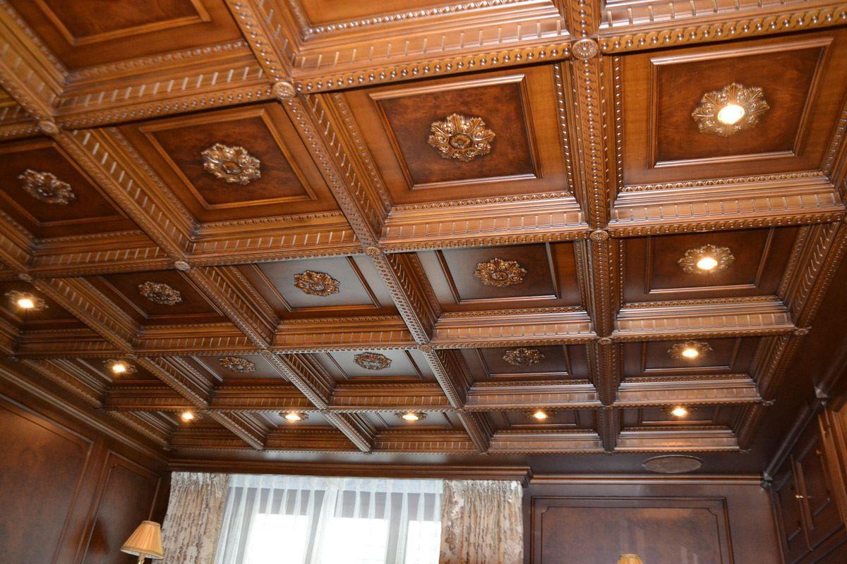 Các loại trần gỗ phòng ngủ đẹp, chất lượng