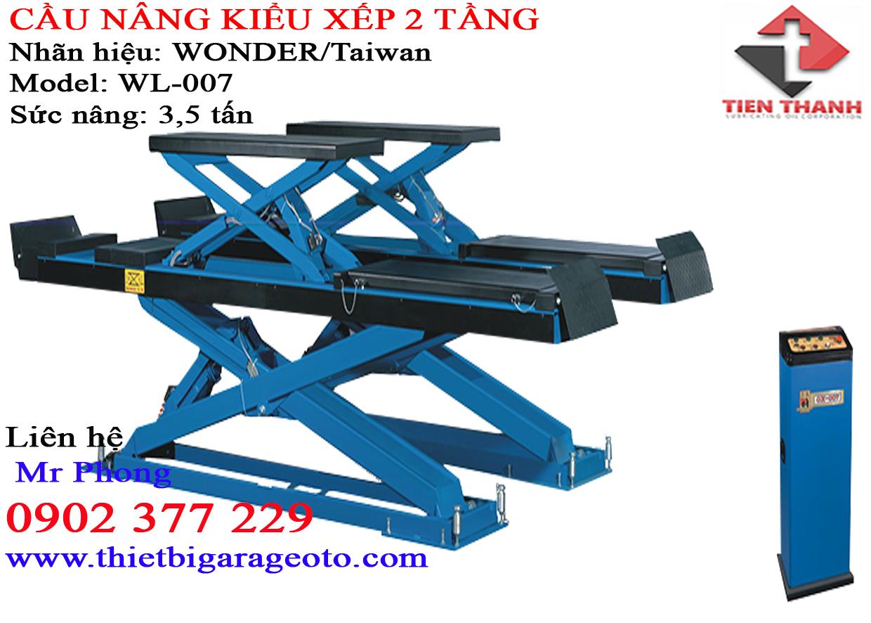 Cầu nâng 2 trụ giằng trên TC4000