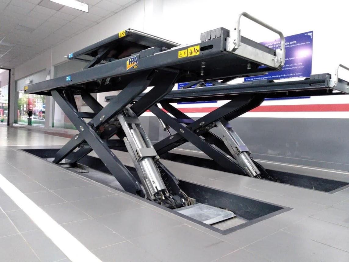 CẦU NÂNG CẮT KÉO 2 TẦNG HPA Superlift 45/X CT LT
