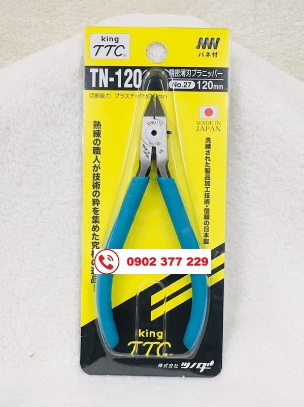 Kềm cắt nhựa lưỡi mỏng  King TTC/ Tsunoda TN-120