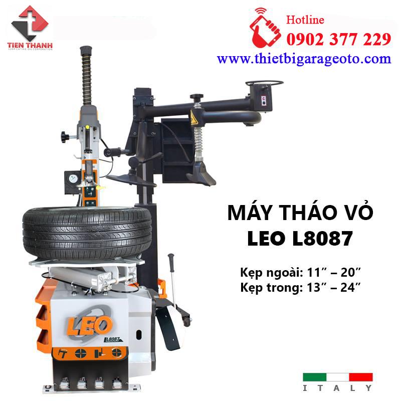 Máy ra vào lốp xe ô tô LEO L8087