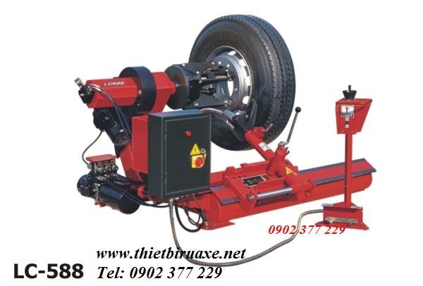 Hướng dẫn sử dụng máy tháo lốp xe tải LC-588S