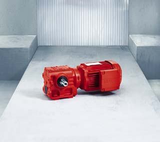 Helical-worm Gearmotor S Series