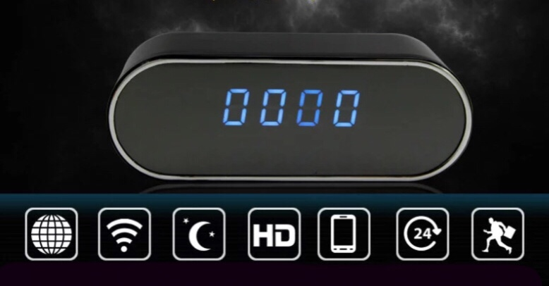 Camera ngụy trang Wifi đồng hồ để bàn Z10 HD