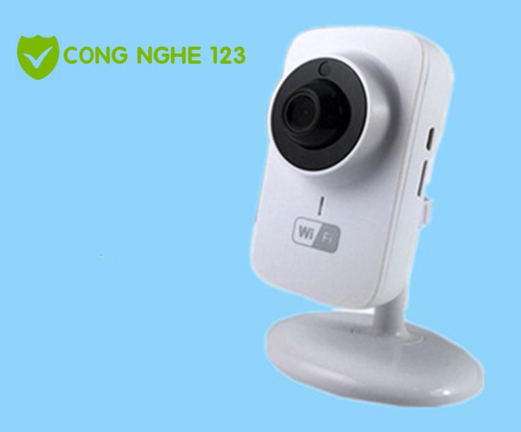 Camera IP wifi hồng ngoại nhỏ gọn quan sát từ xa TC02
