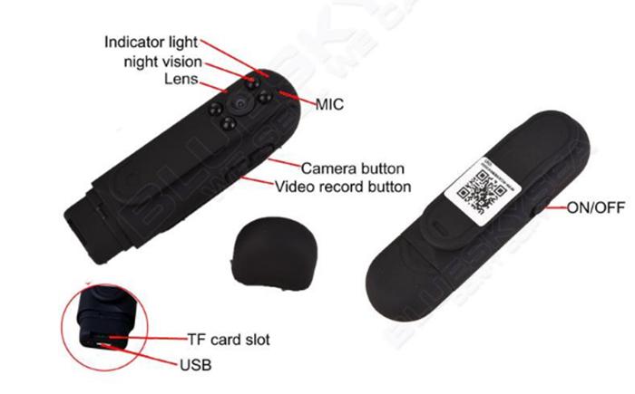 Camera IP không dây siêu nhỏ GSD900