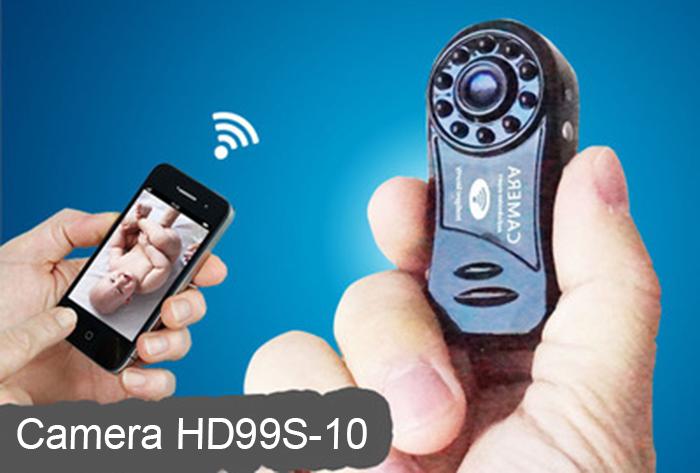 Camera Mini xem ban đêm, vừa sạc vừa dùng không lo hết PIN HD99S