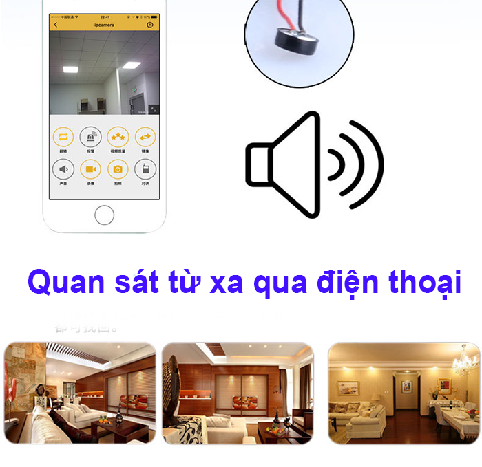 Camera siêu nhỏ kết nối điện thoại