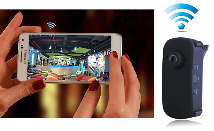 Camera IP siêu nhỏ không dây kết nối điện thoại