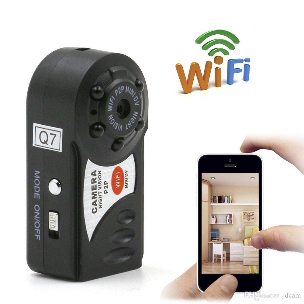 Camera IP wifi siêu nhỏ cẩm tay Mini Q7