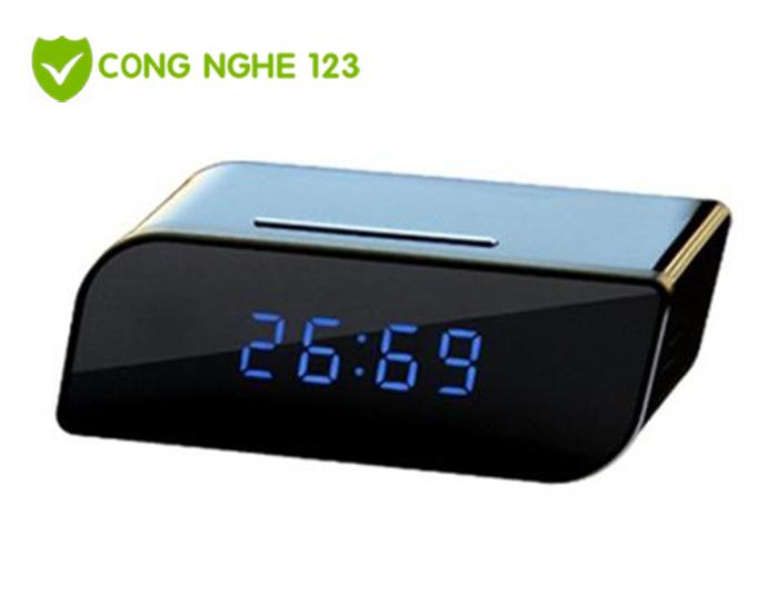 Camera ngụy trang wifi đồng hồ để bàn kỹ thuật số T99
